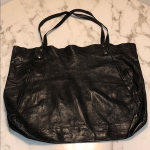 American Apparel Leather Bag